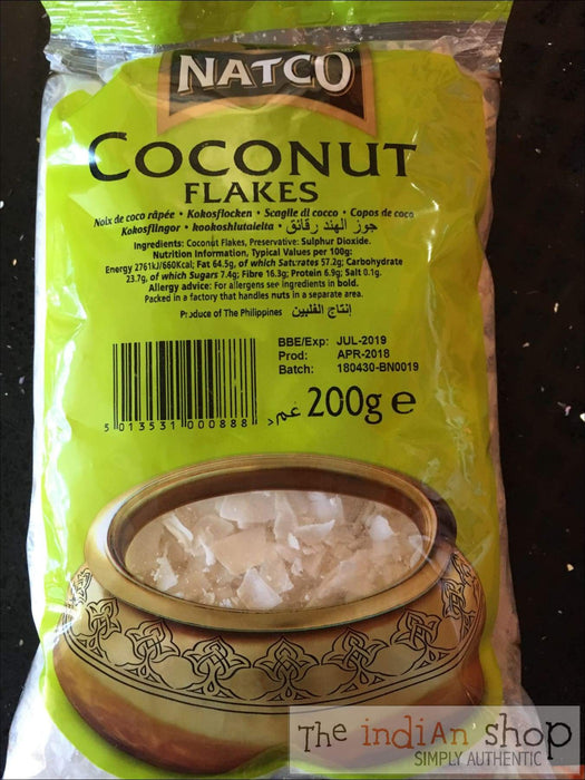 Natco Coconut Flakes - Other Ground Flours