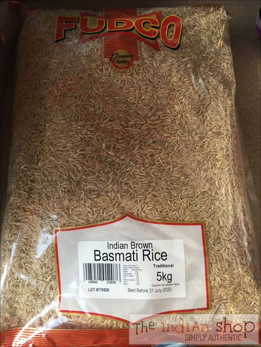 Fudco Brown Basmati Rice - Rice