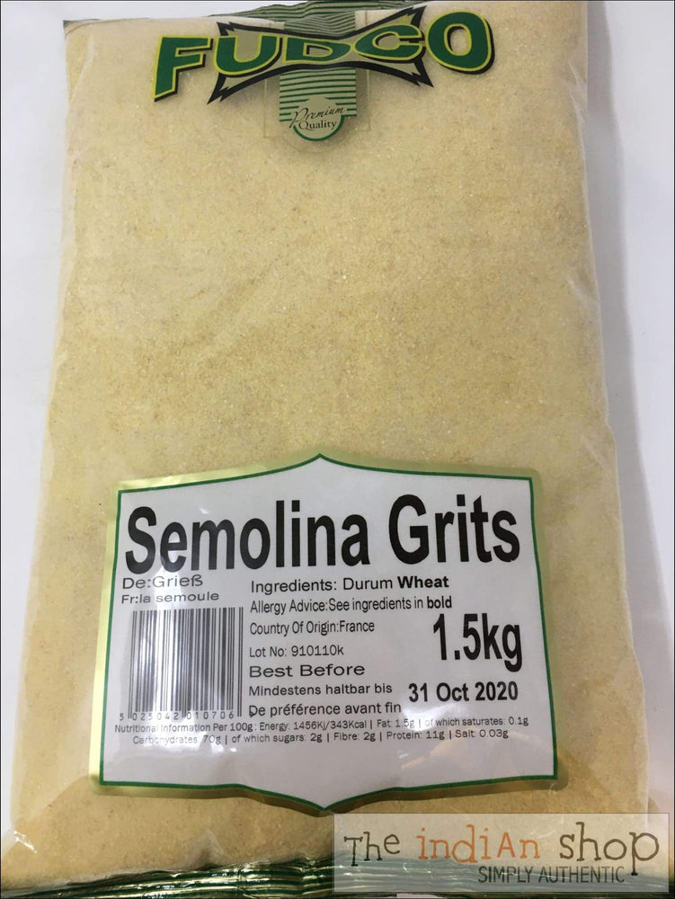Fudco Semolina Grits - Other Ground Flours