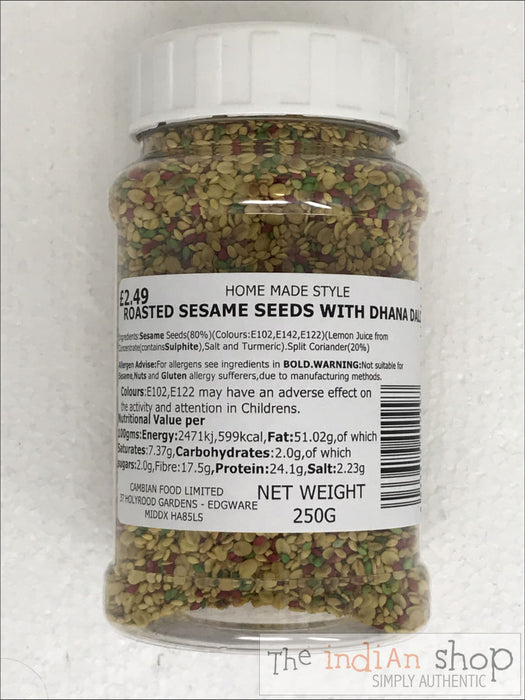 Home Made Style Roasted Sesame Seeds with Dhana Dall - 250 g - Other interesting things