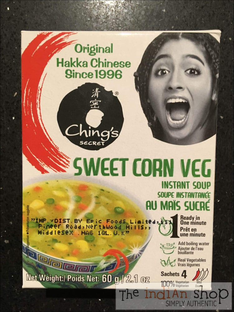 Chings Instant Sweet Corn Veg Soup - Snacks