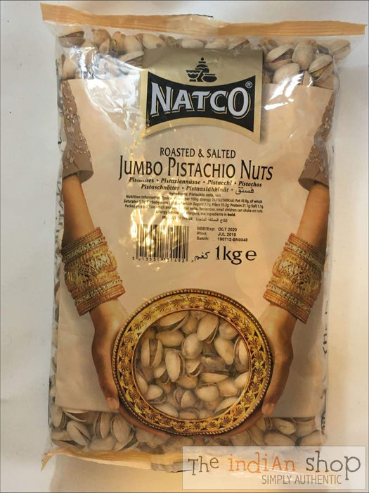 Natco Pistachio Nuts Roasted and Salted Jumbo - Nuts and Dried Fruits