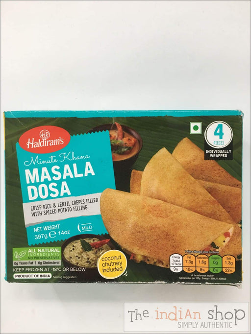 Haldiram Dakshin Express Masala Dosa - Frozen Ready to Eat
