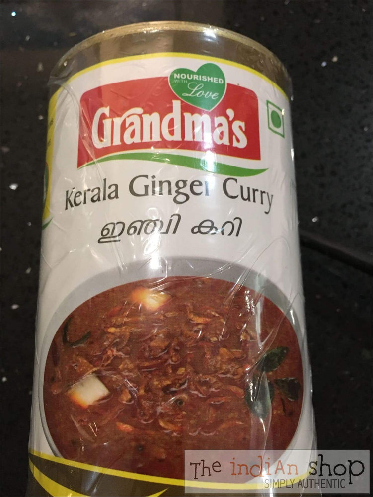Grandmas Kerala Ginger Curry - Canned Items