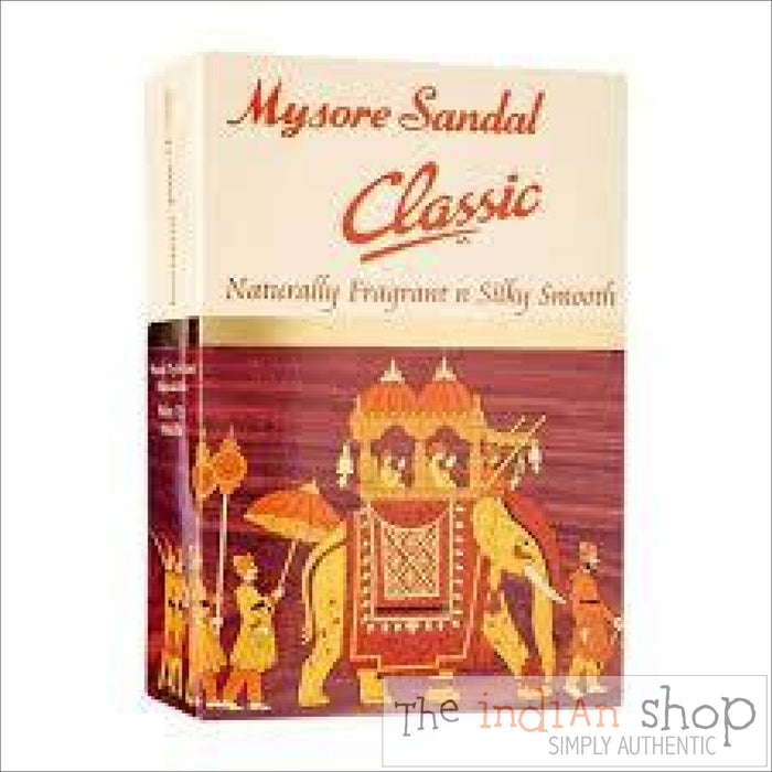 Mysore Sandal Classic Soap - 125 g - Beauty and Health