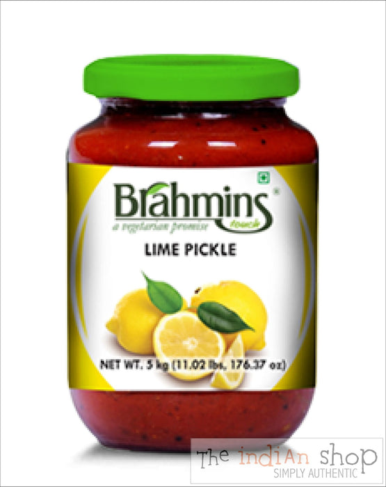 Brahmins Lime Pickle - 300 g - Pickle