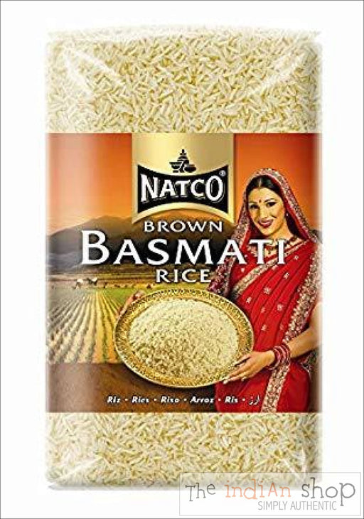 Natco Brown Basmati Rice - 2 Kg - Rice