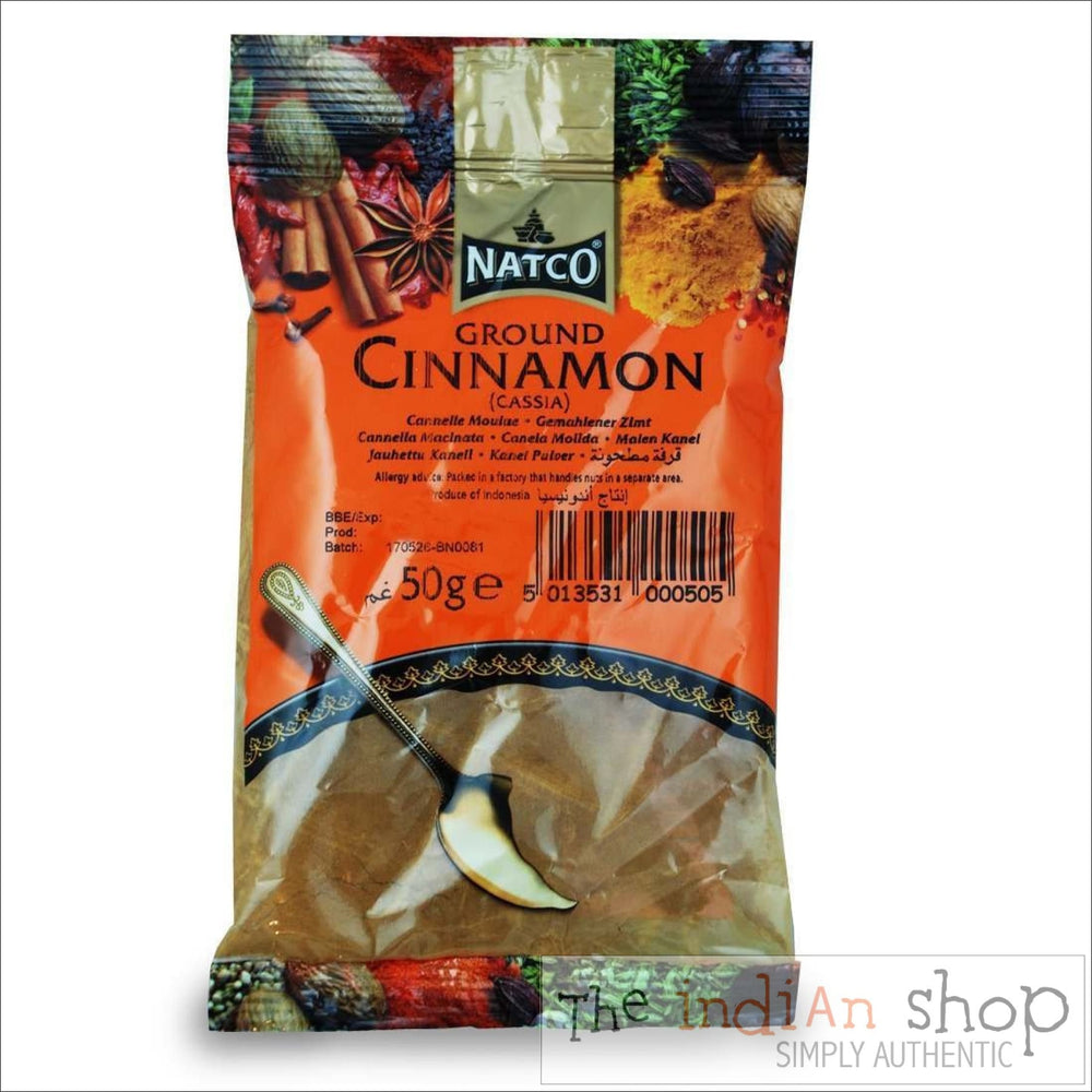 Natco Cinnamom Ground (Cassia) - 50 g - Spices