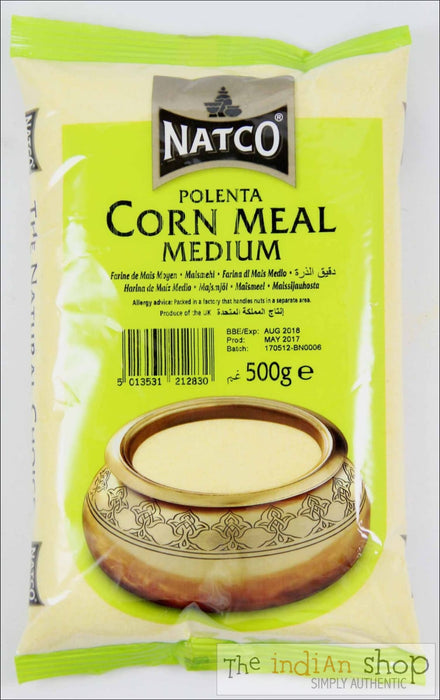 Natco Cornmeal Medium - 500 Grams - Other Ground Flours