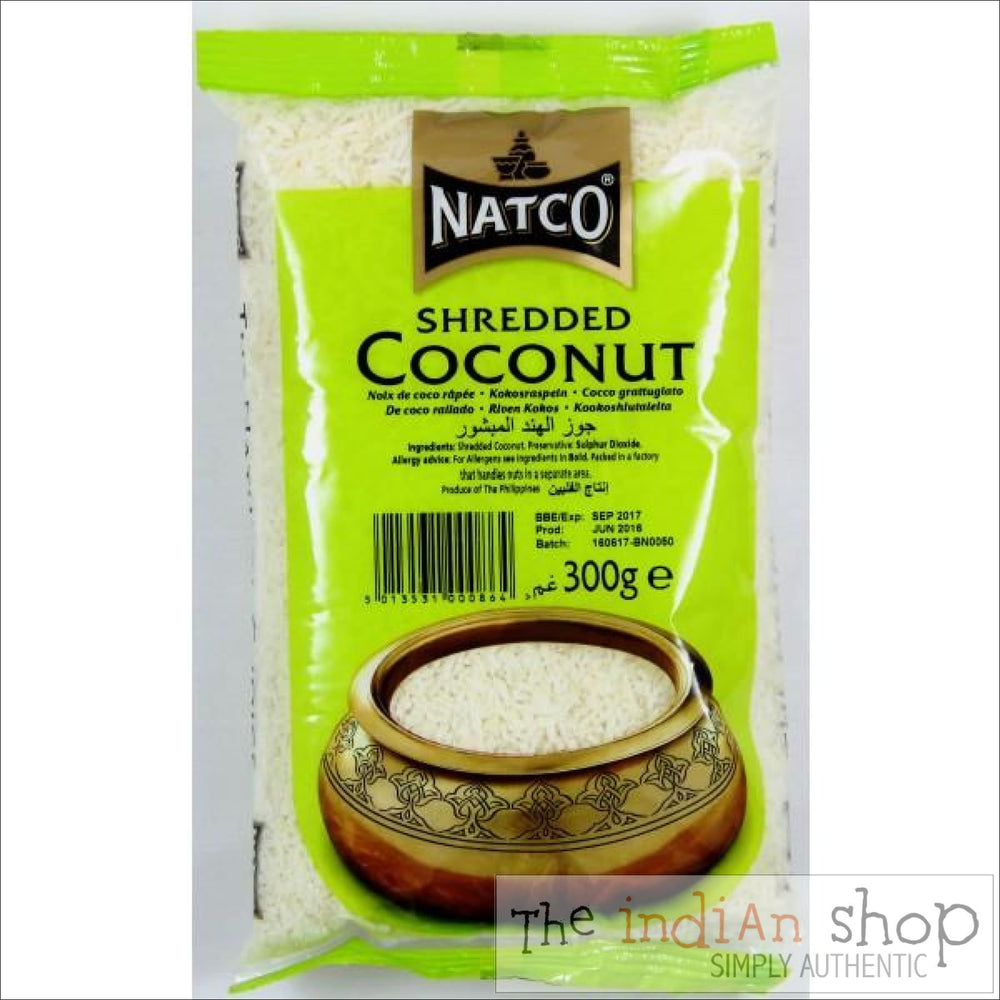 Natco Shredded Coconut - 300 g - Other Ground Flours