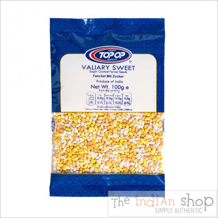 Top-op Valiary (Fennel Seeds) Sweet - 100 g - Other interesting things
