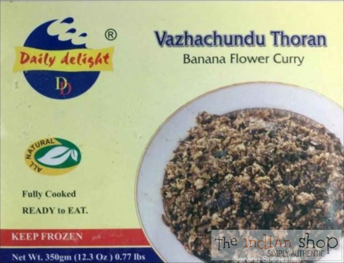 Daily Delight Vazhachundu Thoran - Frozen Curries