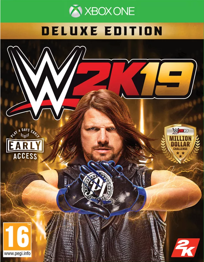WWE 2K19 Deluxe Edition (Xbox One) - GameIN