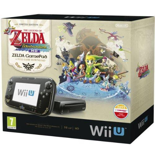 Nintendo Wii U 32GB The Legend of Zelda: Wind Waker HD Premium Pack - Black - GameIN