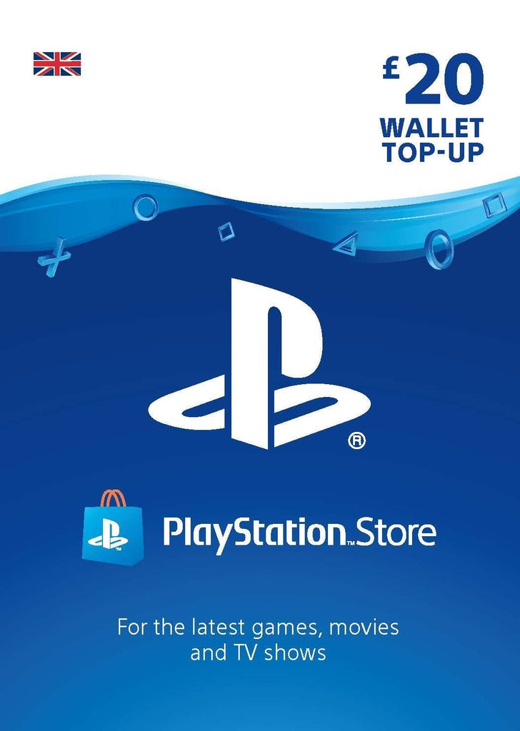 PlayStation PSN Card 20 GBP Wallet Top Up (PSN Download) - GameIN