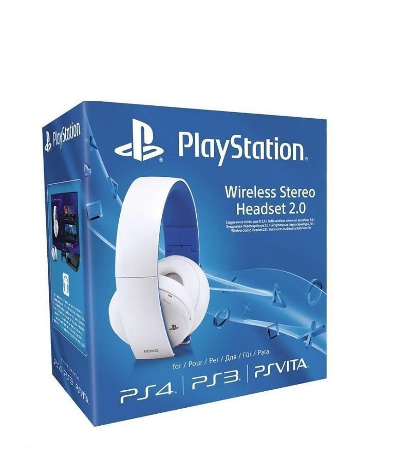 Sony PlayStation Wireless Stereo Headset 2.0 - White - GameIN