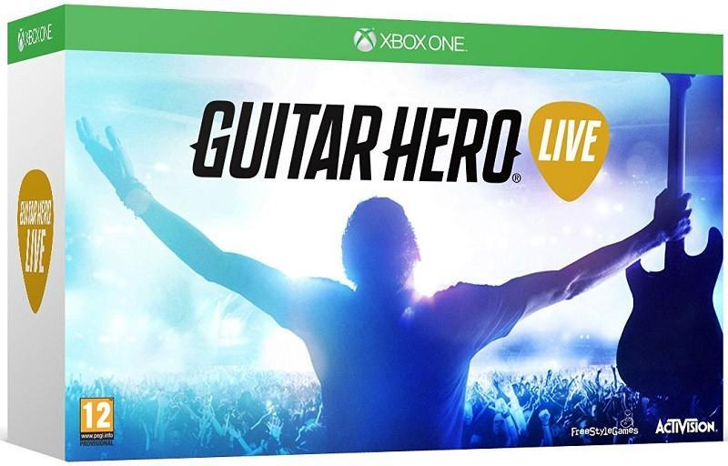Guitar Hero Live with Guitar Controller (Xbox One) - GameIN