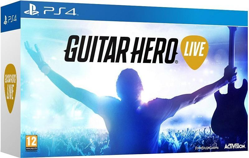 Guitar Hero Live with Guitar Controller (PS4) - GameIN