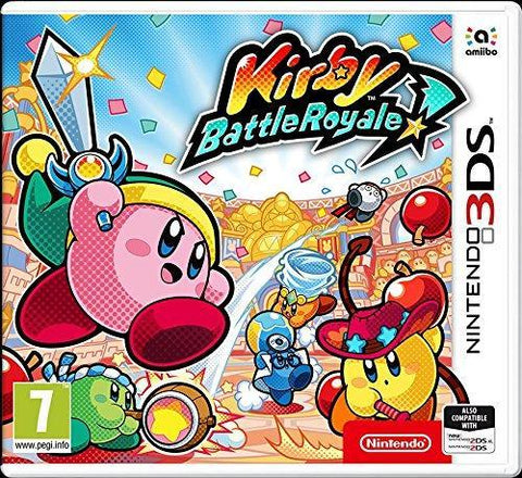 Kirby Battle Royale (3DS) - GameIN