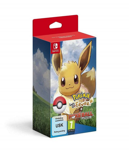 Nintendo Pokemon: Let's Go, Eevee Including Poke Ball Plus (Nintendo Switch) - GameIN