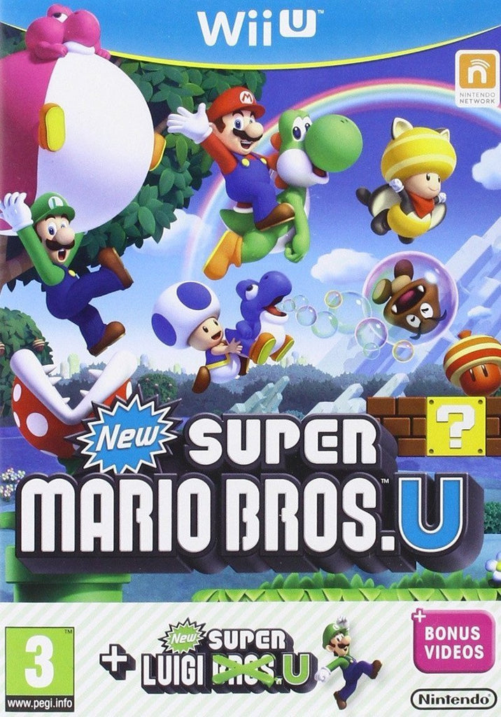 New Super Mario Bros + New Super Luigi (Wii U) - GameIN