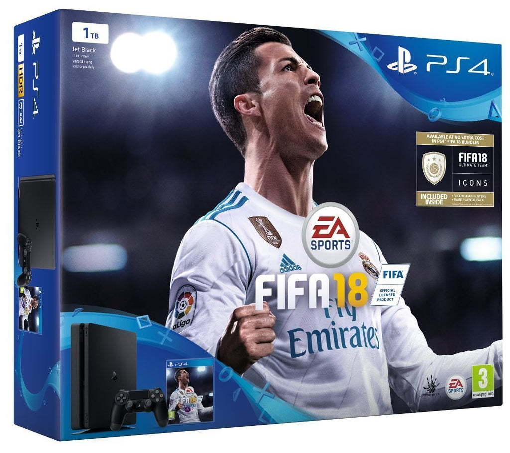PlayStation 4 Slim 1TB with FIFA 18 - GameIN