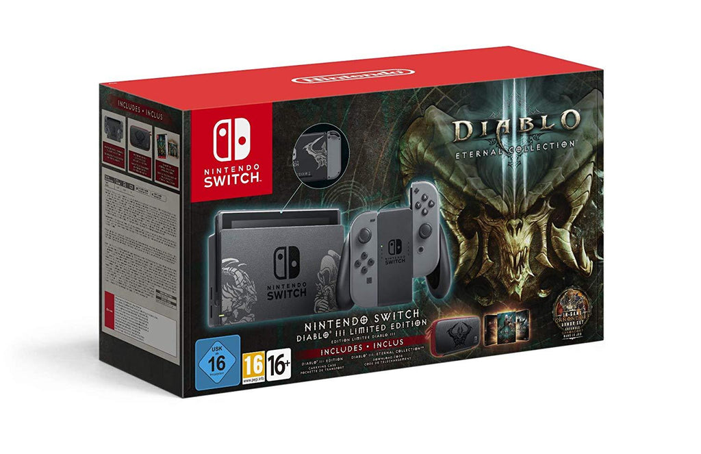 Nintendo Switch Limited Diablo III Edition Console - GameIN