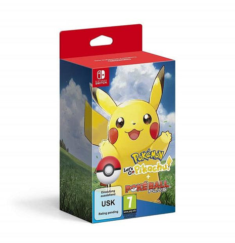 Nintendo Pokemon: Let's Go, Pikachu Including Poke Ball Plus (Nintendo Switch) - GameIN