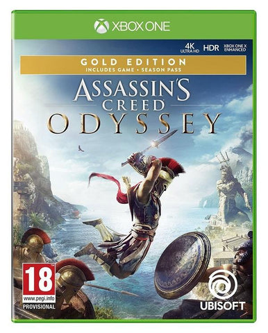 Assassins Creed Odyssey Gold Edition (Xbox One) - GameIN