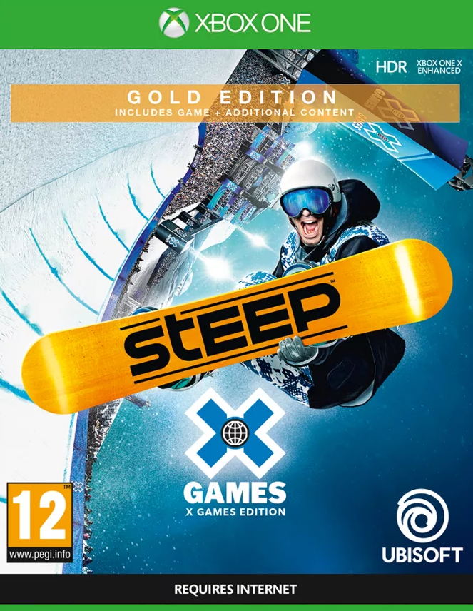 Steep: X Games - Gold Edition  (Xbox One) - GameIN