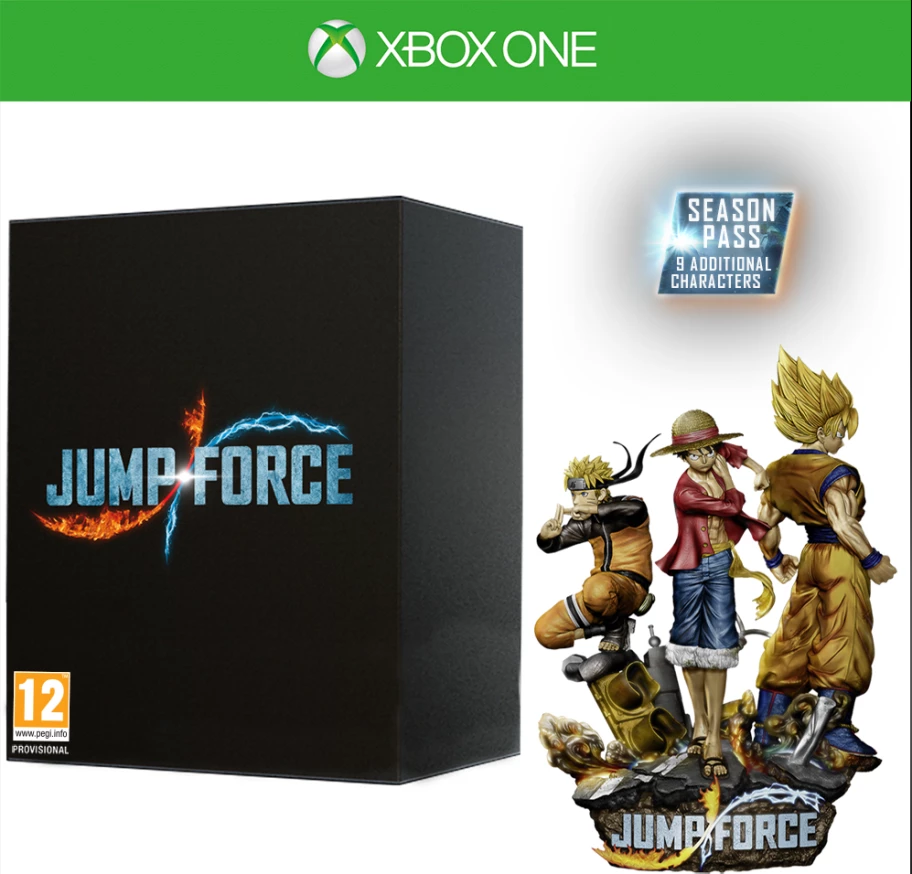 Jump Force Collectors Edition (Xbox One) - GameIN