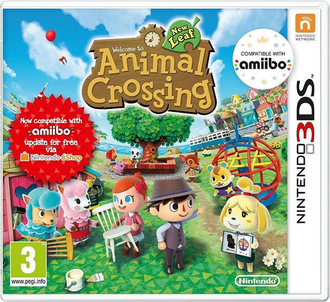 Animal Crossing: New Leaf (3DS) - GameIN