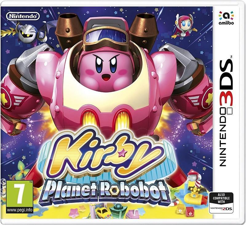 Kirby: Planet Robobot (3DS) - GameIN