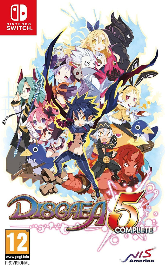 Disgaea 5 Complete (Nintendo Switch) - GameIN