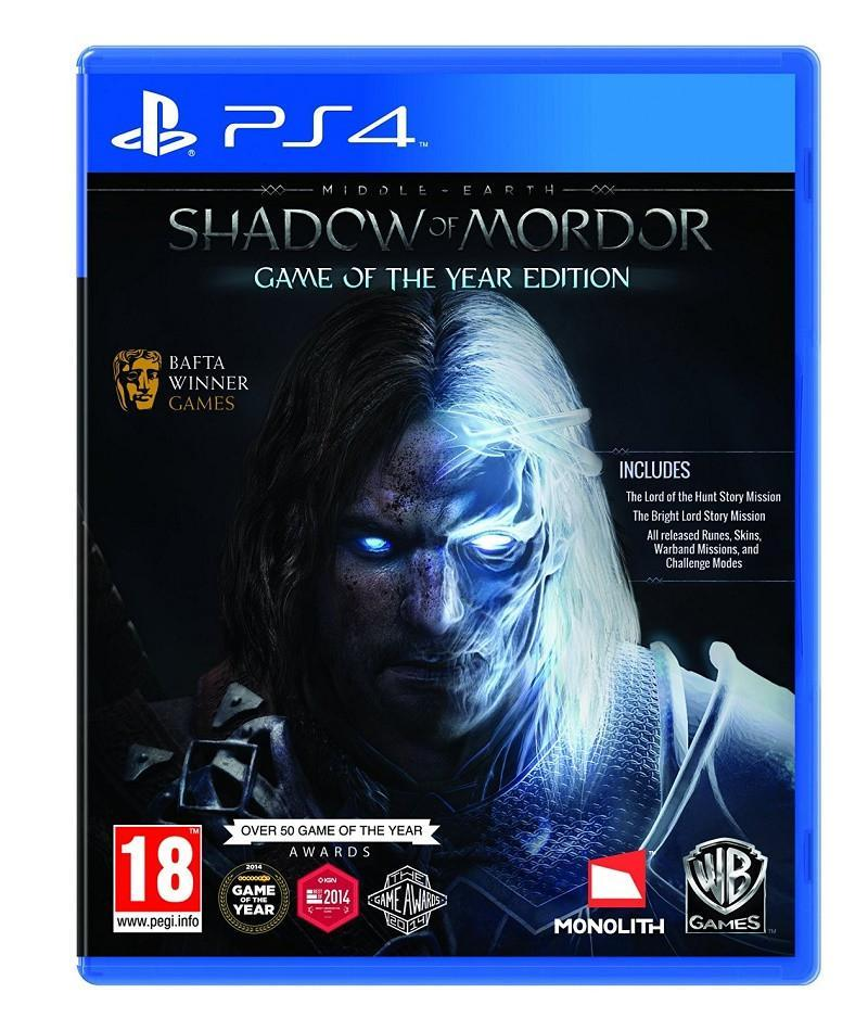 Middle-Earth: Shadow of Mordor GOTY (PS4) - GameIN
