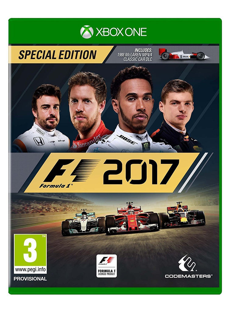 F1 2017 Special Edition (Xbox One) - GameIN