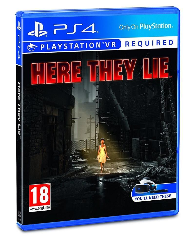 Here They Lie (PSVR) - GameIN