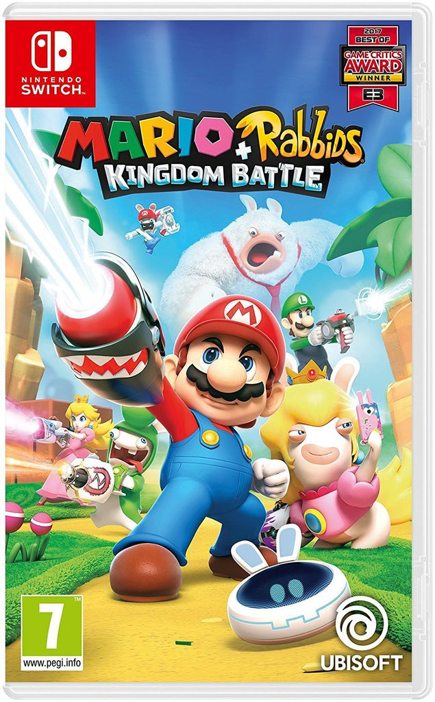 Mario + Rabbids Kingdom Battle (Nintendo Switch) - GameIN
