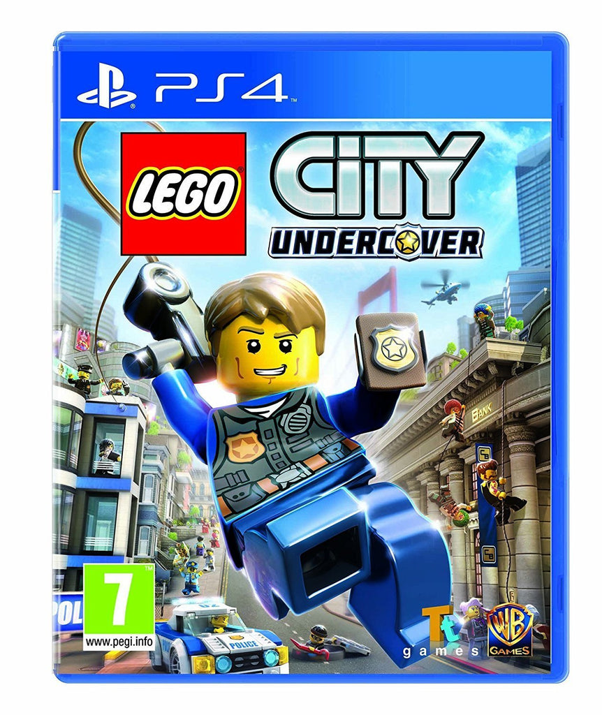 LEGO City Undercover (PS4) - GameIN