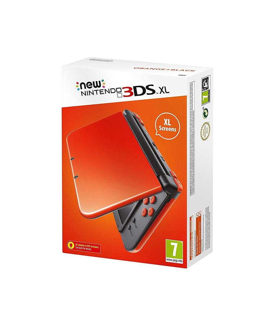 New 3DS XL Orange and Black - GameIN