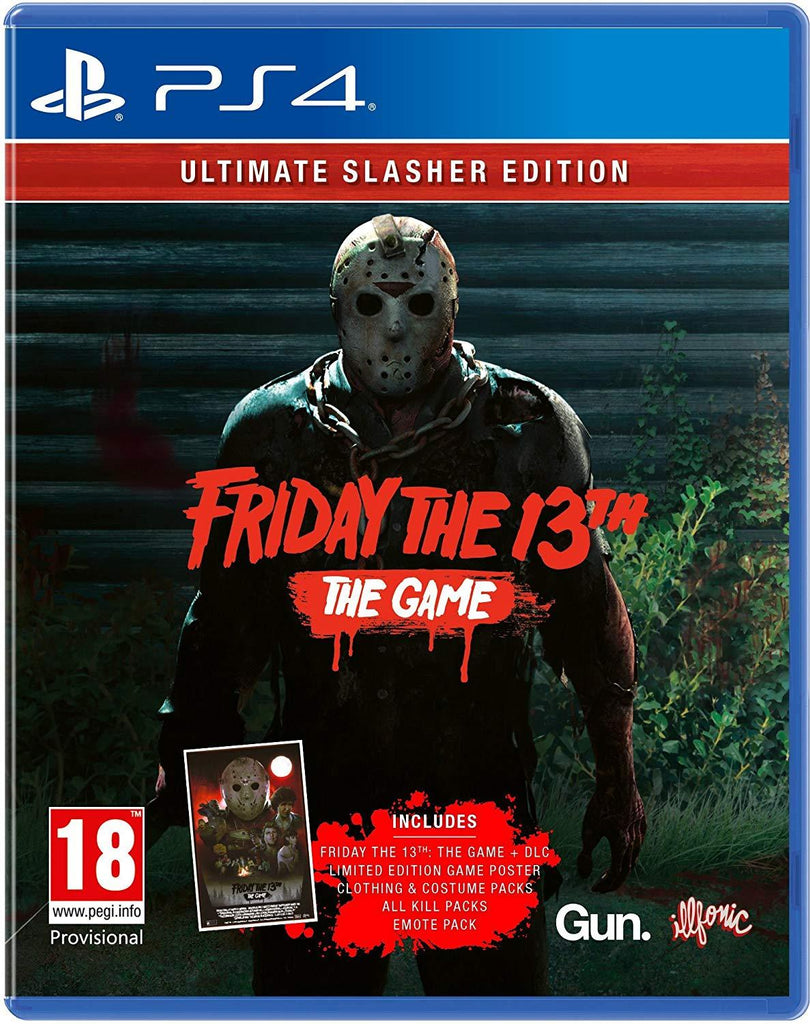 Friday the 13th: The Game Ultimate Slasher Edition (PS4) - GameIN