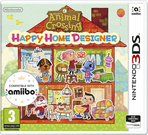 Animal Crossing: Happy Home Designer (3DS) - GameIN