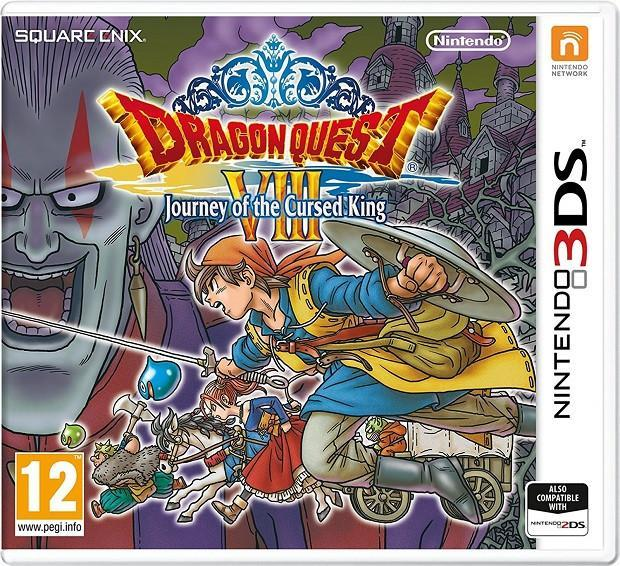 Dragon Quest VIII: Journey of the Cursed King (3DS) - GameIN