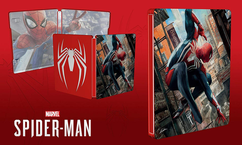 Marvel's Spider-Man Steelcase Only - NO GAME (PS4 + Xbox One) - GameIN