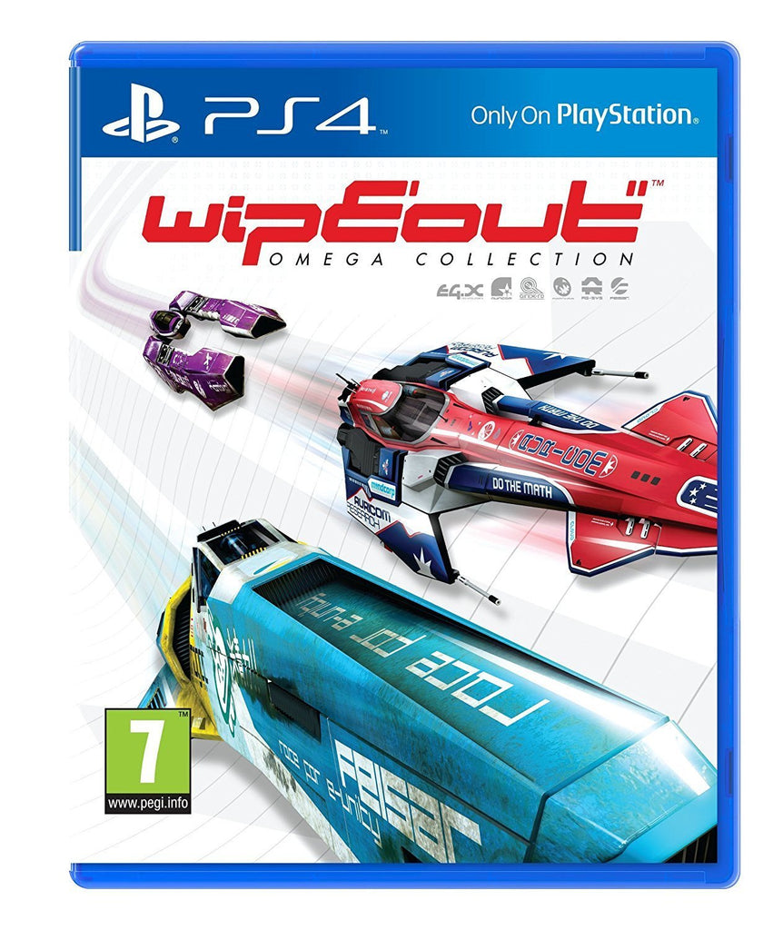 WipEout: Omega Collection + Steelcase (PS4) - GameIN