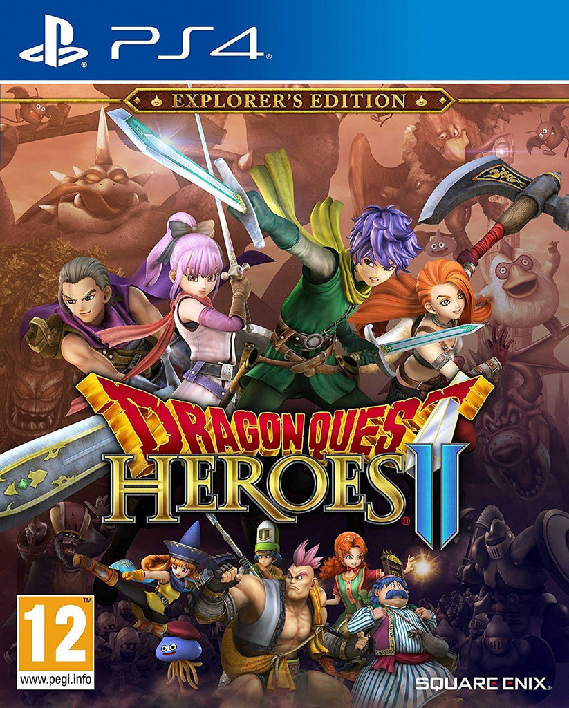 Dragon Quest Heroes II Explorer's Edition (PS4) - GameIN