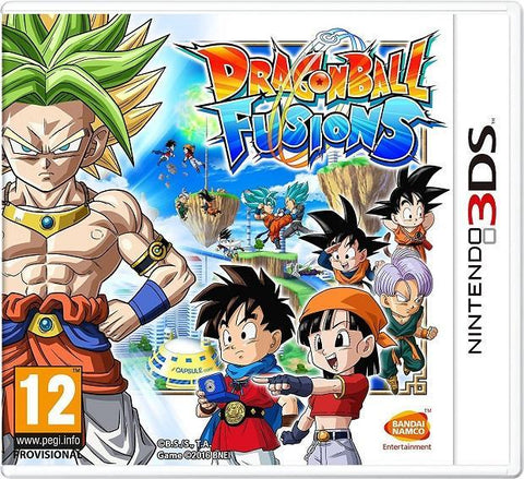 Dragonball Fusions (3DS) - GameIN