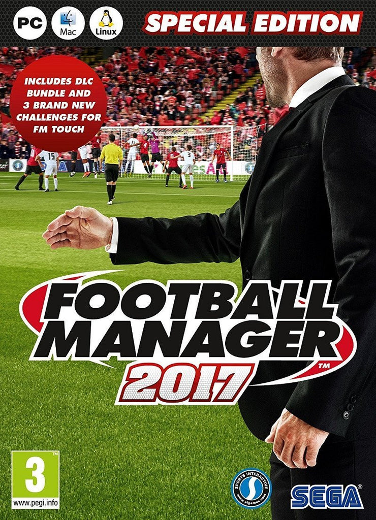 Football Manager 2017 Limited Edition (PC Download) - GameIN