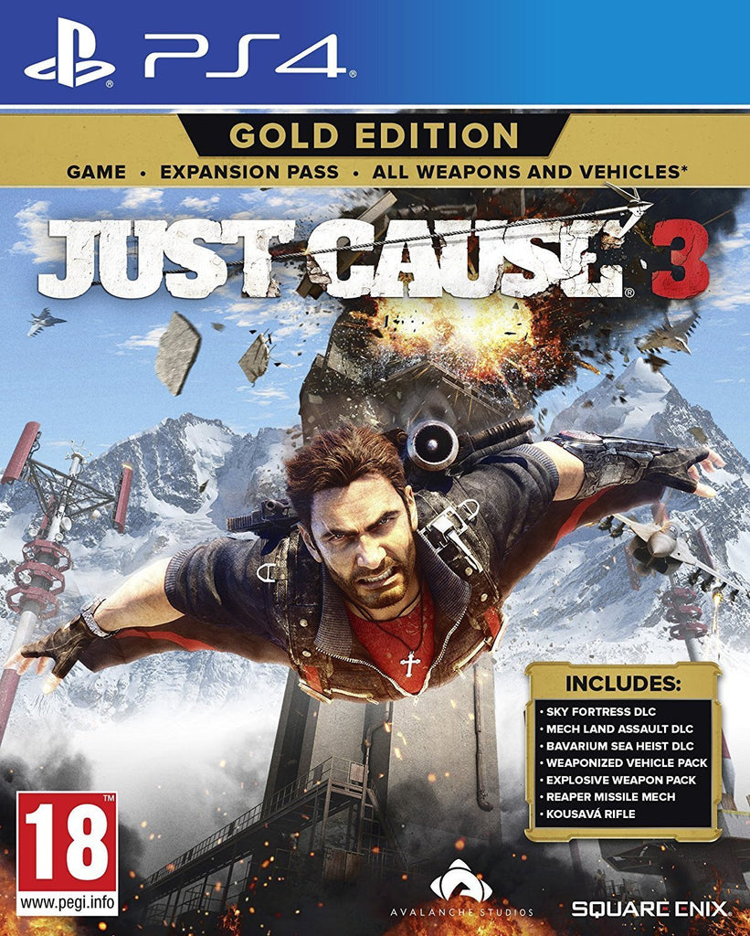 Just Cause 3 Gold Edition (PS4) - GameIN