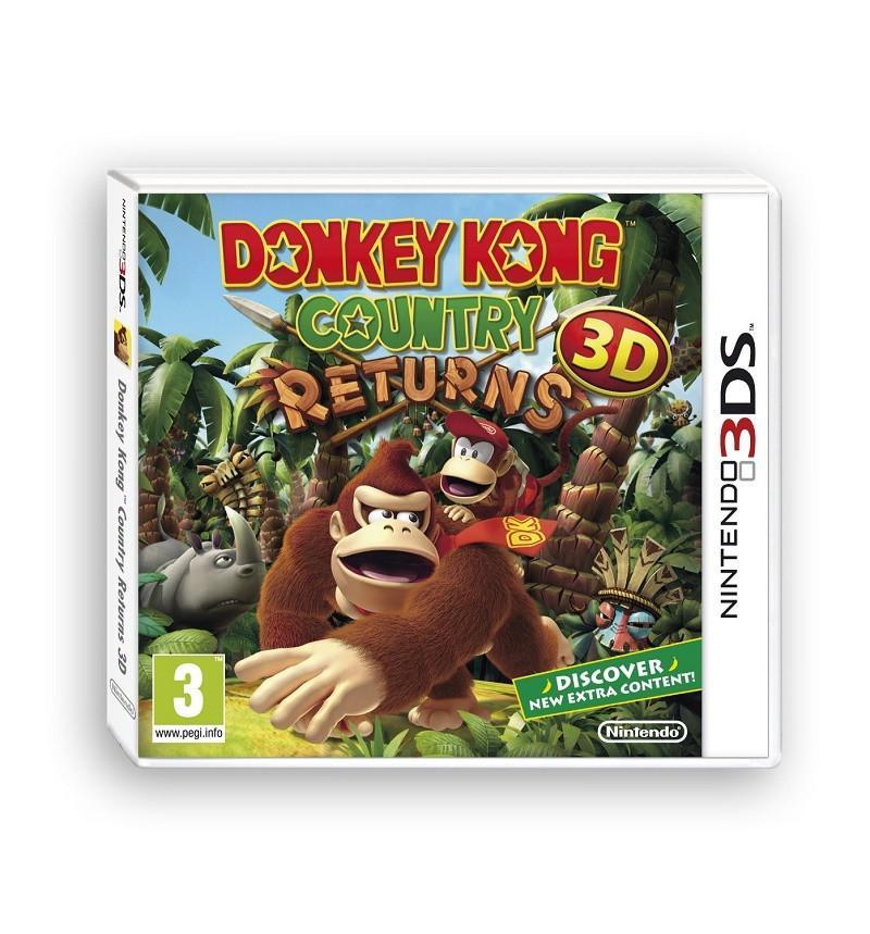 Donkey Kong Country Returns (3DS) - GameIN